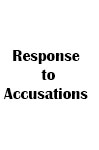 response to accusations