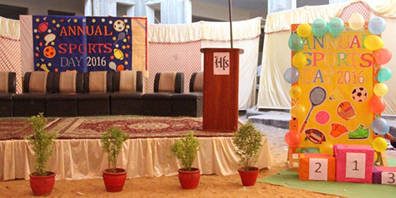 Annual Sports Day Hira Foundation School