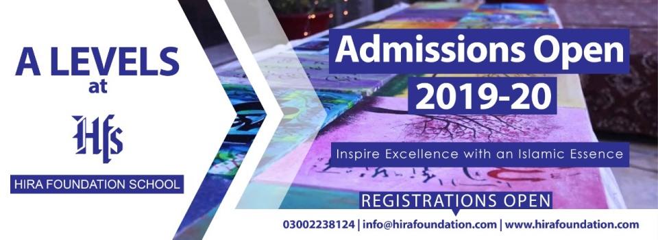Hira Foundation School | Cambridge System in Karachi, Pakistan