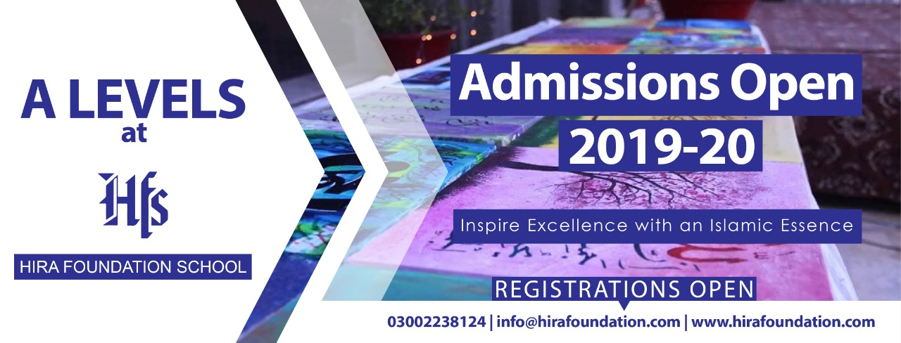 A Level Admission in Karachi-HFS