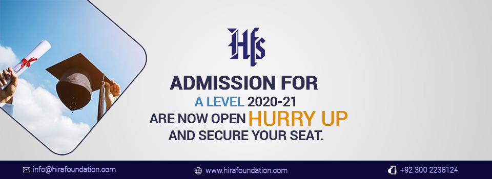 A Level Admission in Karachi-HFS