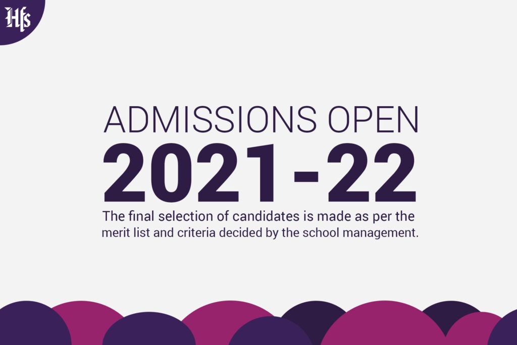 ADMISSIONS OPEN 2021-22