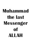 Muhammad the last messenger of Allah