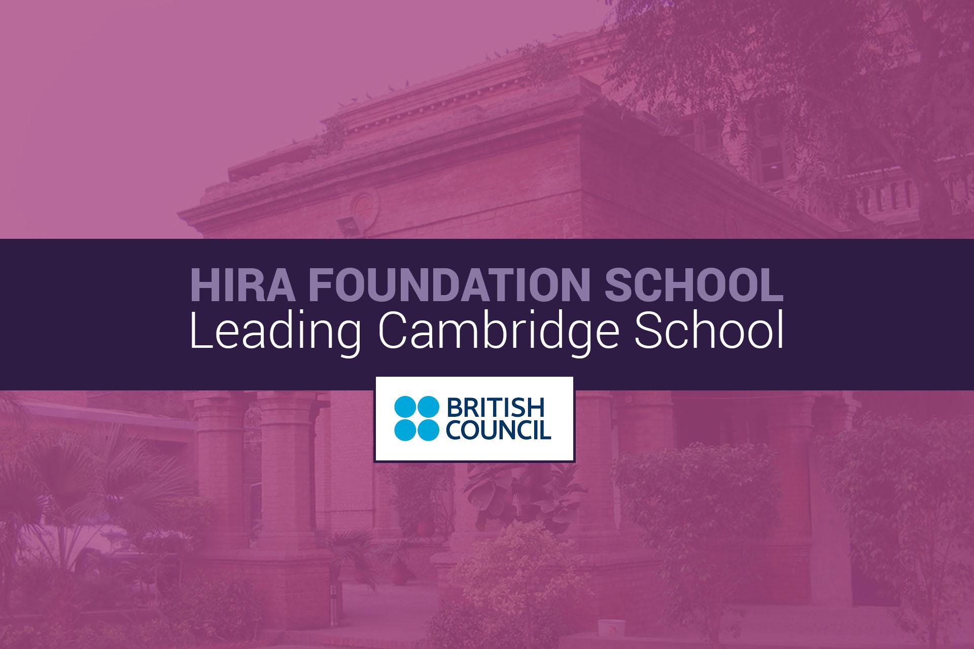 LEADING CAMBRIDGE SCHOOL